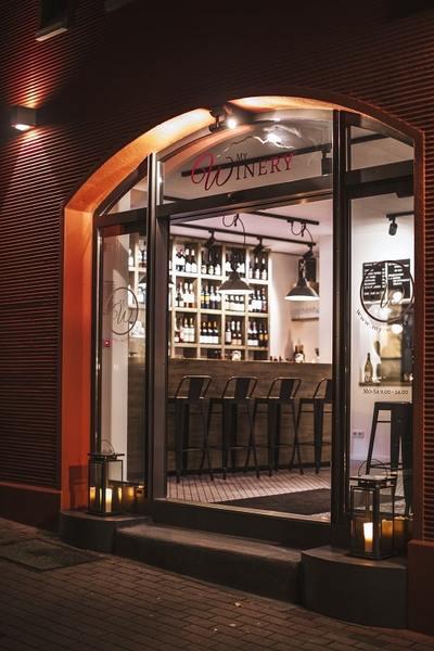 Eingang My Winery Weinbar